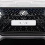 Lexus LX 570 Superior grille