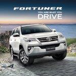 MY 2017 Toyota Fortuner Thailand price increase