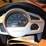 Mahindra Gusto 125 speedometer at Nepal Auto Show