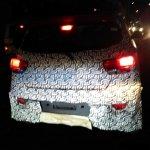 2017 Mahindra KUV100 facelift spied rear view