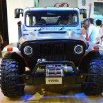 Mahindra Thar Daybreak front at Nepal Auto Show 2017
