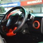 Mahindra Thar Daybreak interior at Nepal Auto Show 2017