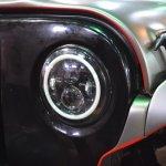 Mahindra Thar Daybreal headlamp at Nepal Auto Show 2017
