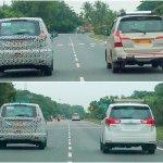 Mahindra U321 and Toyota Innova side-by-side
