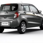 Maruti Celerio Limited Edition rear three quarters