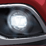 Mitsubishi Outlander India LED foglamps