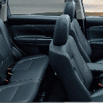 Mitsubishi Outlander India cabin