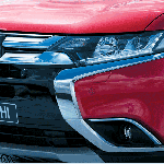 Mitsubishi Outlander India nose