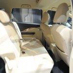 Mitsubishi Xpander at GIIAS 2017 Live rear seats