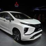 Mitsubishi Xpander at GIIAS 2017 Live right front three quarters