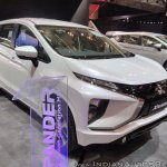 Mitsubishi Xpander front three quarters right side at GIIAS 2017