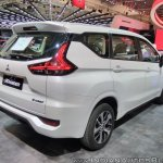 Mitsubishi Xpander rear three quarters right side at GIIAS 2017
