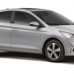 Next Generation Hyundai Verna Unveiled front right three quarters