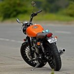 Royal Enfield Classic 350 Achilles Bulleteer Customs rear