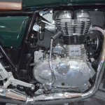 Royal Enfield Continental GT engine at the Nepal Auto Show 2017