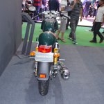 Royal Enfield Continental GT rear at the Nepal Auto Show 2017