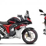Suzuki Gixxer SF ABS side and front view