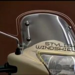 TVS Jupiter Classic Edition TVC classic edition windshield
