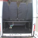 Tata Winger 15 seater last row seats