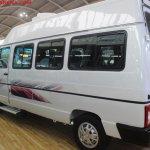 Tata Winger 15 seater rear three quarters