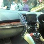 Toyota Alphard Hybrid at GIIAS 2017 dashboard left angle