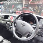 Toyota Hiace Luxury at GIIAS 2017 dashboard
