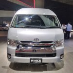Toyota Hiace Luxury at GIIAS 2017 front view
