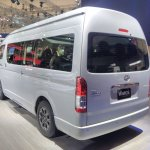 Toyota Hiace Luxury at GIIAS 2017 left rear three quarters