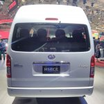 Toyota Hiace Luxury at GIIAS 2017 rear view