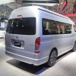 Toyota Hiace Luxury at GIIAS 2017 right rear three quarters