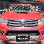 Toyota Hilux TRD front at GIIAS 2017