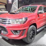 Toyota Hilux TRD front three quarters at GIIAS 2017