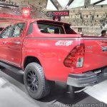Toyota Hilux TRD rear three quarters at GIIAS 2017