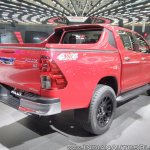 Toyota Hilux TRD rear three quarters right side at GIIAS 2017