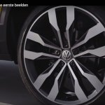 VW T-ROC alloy wheel production vehicle teaser