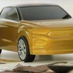 VW T-ROC front teaser shot