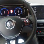 VW Virtus dashboard driver side undisguised spy shot