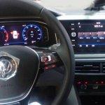 VW Virtus interior undisguised spy shot