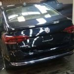 VW Virtus rear spy shot Brazil