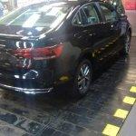 VW Virtus rear three quarters spy shot Brazil