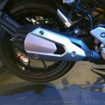 Yamaha Fazer 25 India launch red exhaust