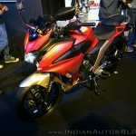 Yamaha Fazer 25 India launch red front left quarter