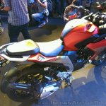 Yamaha Fazer 25 India launch red rear right side quarter