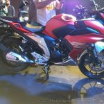 Yamaha Fazer 25 India launch red right side