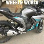 Yamaha Fazer 250 spied walkaround right side