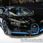 0-400-0 world record Bugatti Chiron front three quarters at the IAA 2017