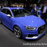 2017 Audi RS 3 Sportback front three quarter at the IAA 2017