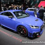 2017 Audi TT RS with Audi Sport Performance Parts front three quarter at the IAA 2017