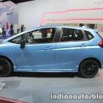2017 Honda Jazz (facelift) side profile at the IAA 2017