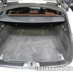 2017 Jaguar XF Sportbrake boot at the IAA 2017